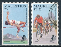 °°° MAURITIUS - Y&T N°627/29 - 1985 °°° - Mauritius (1968-...)