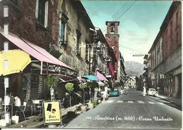 Amatrice (Rieti) Corso Umberto, Bar Trattoria, Umberto Street, Rue Umberto - Rieti