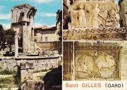 30 Saint Gilles Divers Aspects (2 Scans) - Saint-Gilles