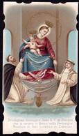 Santino: B.V. DI POMPEI - E - PR - Cromolitografia - RI-SANT12 - Religione & Esoterismo
