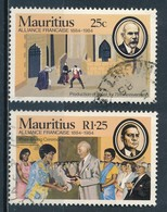 °°° MAURITIUS - Y&T N°611/12 - 1984 °°° - Mauritius (1968-...)