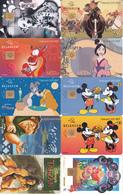 34 Télécartes DISNEY - Disney