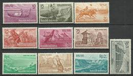 Indonesia 1961 Mi 291-300 MNH ( ZS8 INS291-300 ) - Vaches