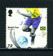 GREAT BRITAIN  -  2006 Football World Cup 72p Used As Scan - Used Stamps