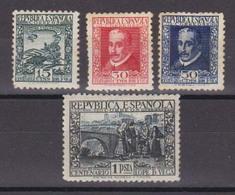 Año 1935 Edifil 690 A 693  Centenario Lope De Vega - 1931-Hoy: 2ª República - ... Juan Carlos I