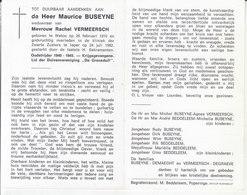 Maurice Buseyne (1910-1982) ~ Oudstrijder (1940-1945) - Devotion Images