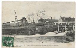 Sainte Colombe : Les Forges, Dragage Du Bief, Le Déversoir (Editeur H. Bogureau, Chatillon Sur Seine, N°409) - Other Municipalities