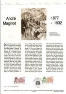 DOCUMENT FDC 1995 ANDRE MAGINOT - Documents De La Poste