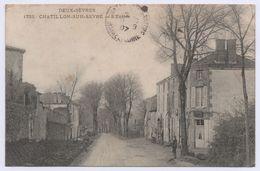 79 CHATILLON SUR SEVRE - L'Entrée. Courrier De 1907 - Other Municipalities