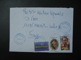 Lettre   République Du Mali 1997 Pour La France Marseille TP  Musée Nationale, Coiffure, Femme Peulh - Mali (1959-...)
