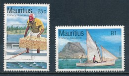 °°° MAURITIUS - Y&T N°581/82 - 1984 °°° - Mauritius (1968-...)
