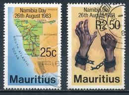 °°° MAURITIUS - Y&T N°577/78 - 1983 °°° - Mauritius (1968-...)