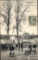 Cp Montfermeil Coudreaux Seine Saint Denis, Ecuries Et Ferme Du Chateau - France