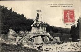 Cp Nuits-Saint-Georges Côte-d'Or, Le Monument De Concoeur - Autres Communes