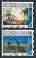°°° MAURITIUS - Y&T N°731/33 - 1990 °°° - Mauritius (1968-...)