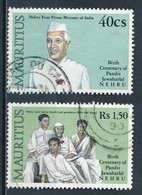 °°° MAURITIUS - Y&T N°726/27/29 - 1989 °°° - Mauritius (1968-...)