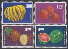 TAIWAN (Formose) - N°478/81 ** (1964)  Fruits - 1945-... Republic Of China
