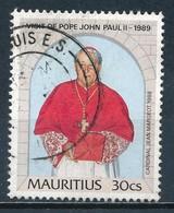 °°° MAURITIUS - Y&T N°721 - 1989 °°° - Mauritius (1968-...)