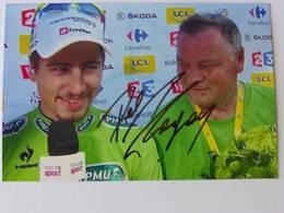 Peter SAGAN - Signé / Hand Signed / Dédicace Authentique / Autographe - Ciclismo