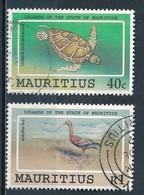°°° MAURITIUS - Y&T N°769/70 - 1991 °°° - Mauritius (1968-...)