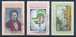 °°° MAURITIUS - Y&T N°740/41/43 - 1990 °°° - Mauritius (1968-...)