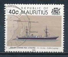 °°° MAURITIUS - Y&T N°803/4 - 1993 °°° - Mauritius (1968-...)