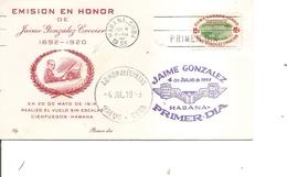 Cuba  (  FDC De 1955 à Voir) - FDC