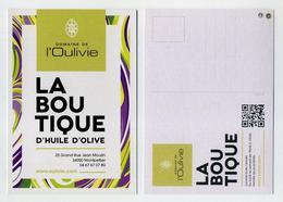 CP Pub Domaine De L'Oulivie. La Boutique De L'huile D'olive. Montpellier. Olive Oil. Produits Du Terroir. Local Products - Comicfiguren