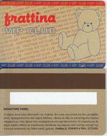 GREECE - Frattina, VIP Member Card, Unused - Non Classificati