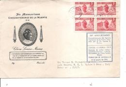 Cuba  ( FDc De 1951 Avec Timbre En Bloc De 4 à Voir) - FDC
