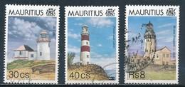 °°° MAURITIUS - Y&T N°838/40 - 1995 °°° - Mauritius (1968-...)