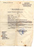 B16  27 07 1954 Lettre Poste Navale Baseecole De Kouribga  Debarquement De Personnel - Marcophilie (Lettres)