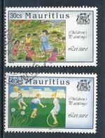 °°° MAURITIUS - Y&T N°824/25 - 1994 °°° - Mauritius (1968-...)