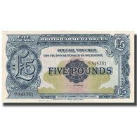 Billet, Grande-Bretagne, 5 Pounds, Undated (1958), KM:M23, SPL+ - Military Issues