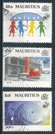 °°° MAURITIUS - Y&T N°842/44 - 1995 °°° - Mauritius (1968-...)
