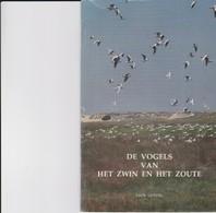 De Vogels Van Het Zwin En Het Zoute - Dépliants Turistici
