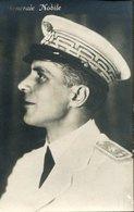54639 Italia, Cart Non Viaggiata Spedizione Generale Nobile Al Polo Nord 1928, Il Generale Nobile (vedi 2 Scan) - Historische Persönlichkeiten