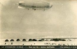 54640 Italia, Cart Non Viaggiata Spedizione Generale Nobile Al Polo Nord 1928, Baia Del Re ,dirigibile Italia - Historische Persönlichkeiten