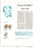 DOCUMENT FDC 1992 FLORENT SCHMITT - Documenten Van De Post