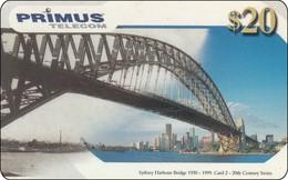 Australia Phonecard Sydney Harbour Bridge - Telefoonkaarten