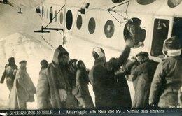 54641 Italia, Cart Non Viaggiata Spedizione Generale Nobile Al Polo Nord 1928,atterraggio Baia Del Re ,dirigibile Italia - Historische Persönlichkeiten