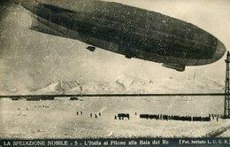 54642 Italia, Cart Non Viaggiata Spedizione Generale Nobile Al Polo Nord 1928,pilone Baia Del Re ,dirigibile Italia - Historische Persönlichkeiten