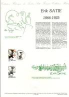 DOCUMENT FDC 1992 ERIK SATIE - Documenten Van De Post