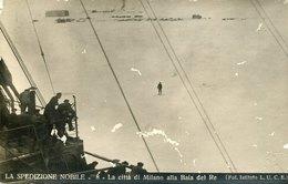 54643 Italia,cart. Viaggiata Spedizione Generale Nobile Al Polo Nord 1928,città Di Milano Baia Del Re ,dirigibile Italia - Historische Persönlichkeiten