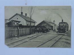Serbia Srbia 205 Vojvodina Nemet Srpska Crnja 1916 Train Vlak Zug - Serbia