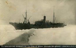 54644 Italia,cart. Viaggiata Spedizione Generale Nobile Al Polo Nord 1928,città Di Milano Bloccata ,dirigibile Italia - Historische Persönlichkeiten