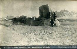 54646 Italia,cart.viaggiata Spedizione Generale Nobile Al Polo Nord 1928,esplorazioni Di Alpini, Dirigibile Italia - Historische Persönlichkeiten