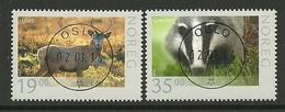 Norway 2014 Fauna Central Cancel  Y.T. 1787/1788 (0) - Norway