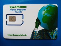 Carte SIM Lycamobile Tunisie - Tunisie