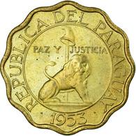 Monnaie, Paraguay, 15 Centimos, 1953, SUP, Aluminum-Bronze, KM:26 - Paraguay